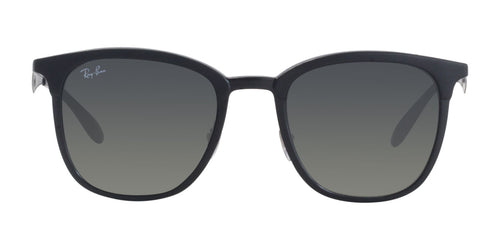 Ray Ban - RB4278 Black Rectangular Unisex Sunglasses - 51mm