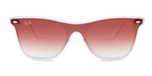 Ray Ban - RB4440N Gray White Shield Women Sunglasses - mm