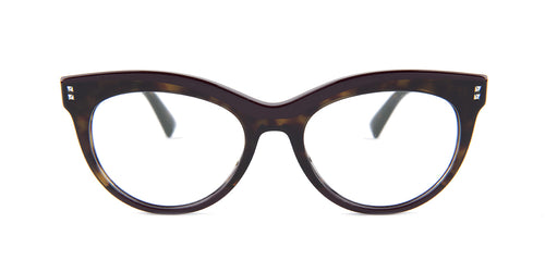 Valentino - VA3022 Tortoise Oval Women Eyeglasses - 52mm