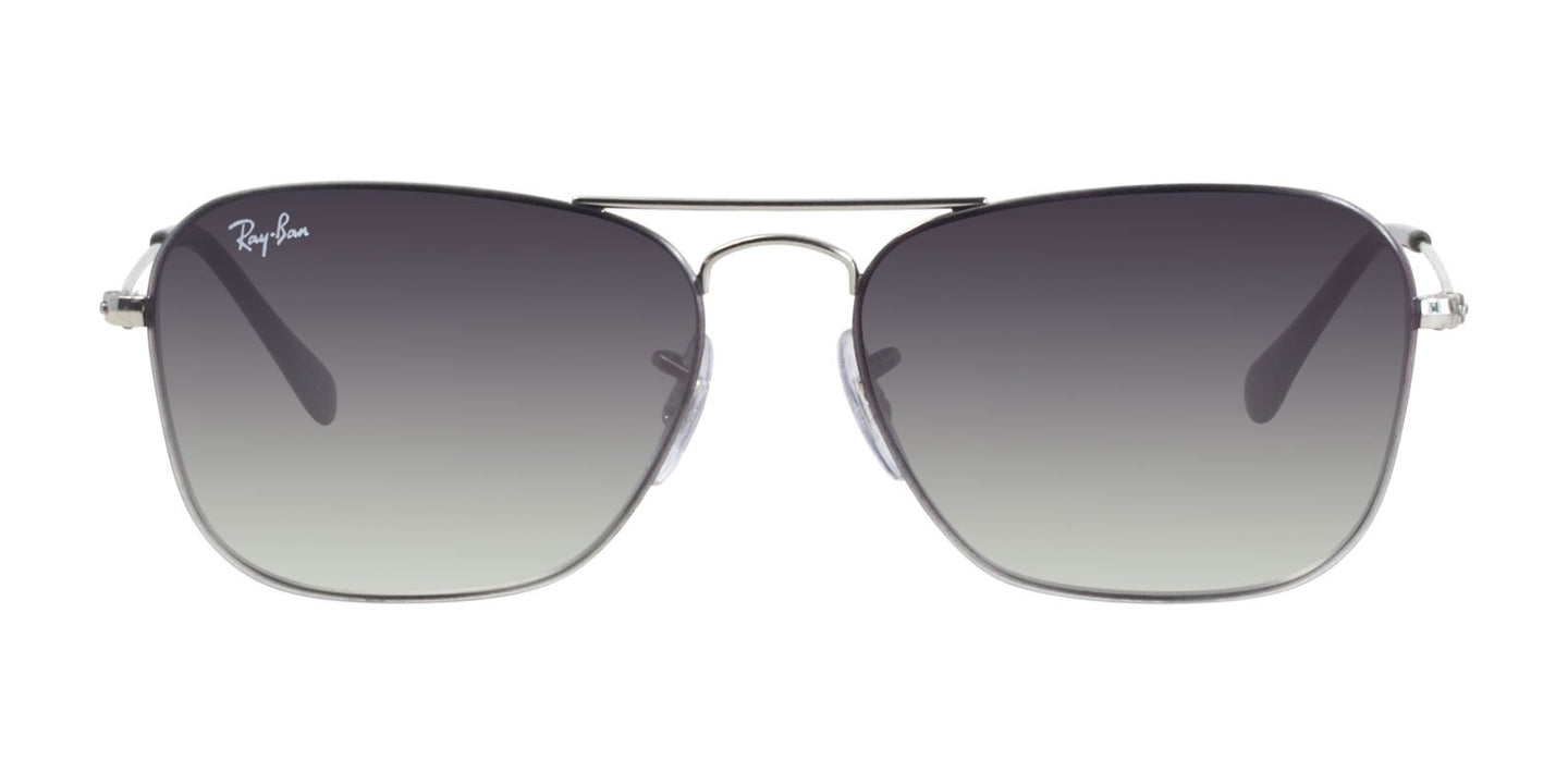 Ray Ban - RB3603 Silver Rectangular Women Sunglasses - 56mm
