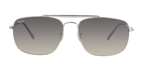 Ray Ban The Colonel Silver / Brown Lens Sunglasses