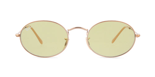 Ray Ban - RB3547N Copper Oval Unisex Sunglasses - 54mm