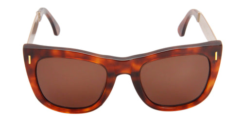 Retrosuperfuture Gals Tortoise / Brown Lens Sunglasses