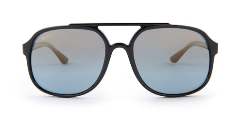 Ray-Ban RB4312-CH Black / Blue Lens Mirror Polarized