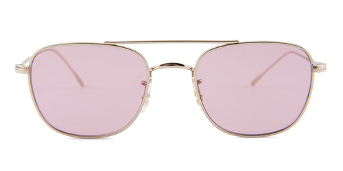 Oliver Peoples Kress Gold / Pink Lens Eyeglasses