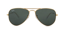 Ray Ban Jr - RJ9506S Gold Aviator Unisex Sunglasses - 52mm