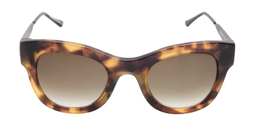 Thierry Lasry - Leggy Tortoise Oval Women Sunglasses - 52mm