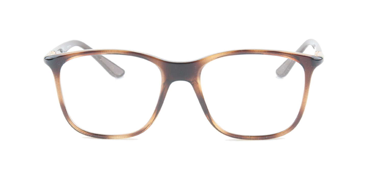 Ray-Ban RX7143 Tortoise / Clear Lens