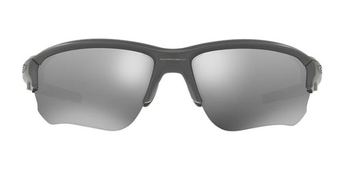 Oakley Flak Draft Gray / Black Lens Mirror Sunglasses