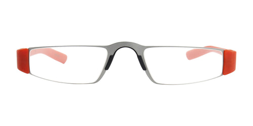 Porsche Design P8801 +1.00 Orange / Clear Lens Readers