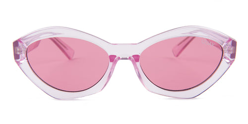 Quay Australia As If! Pink / Pink Lens Sunglasses