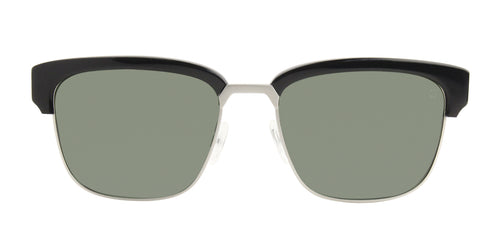 Spy Bellows Black / Green Lens Polarized Sunglasses