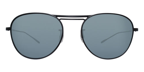 Oliver Peoples Cada Black / Blue Lens Sunglasses
