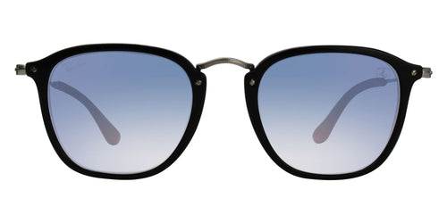 Ray Ban - RB2448NM Black/Blue Gradient Oval Unisex Sunglasses - 51mm