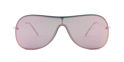Ray-Ban RB4311-N Turquoise / Pink Lens Mirror