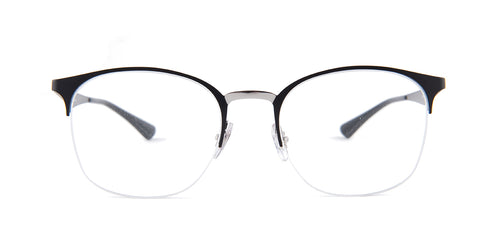 Ray Ban Rx - RX6422 Black Square Women Eyeglasses - 51mm