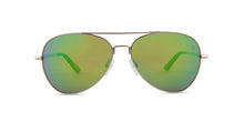 Spy Whistler Silver / Green Lens Mirror Sunglasses