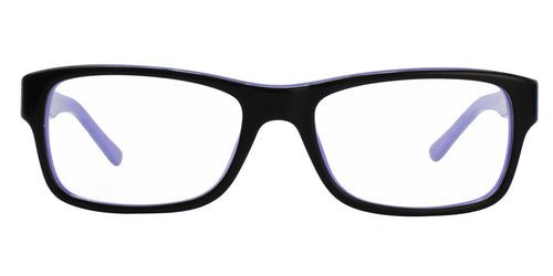 Ray Ban Rx - RX5268 Black Rectangular Unisex Eyeglasses - 52mm
