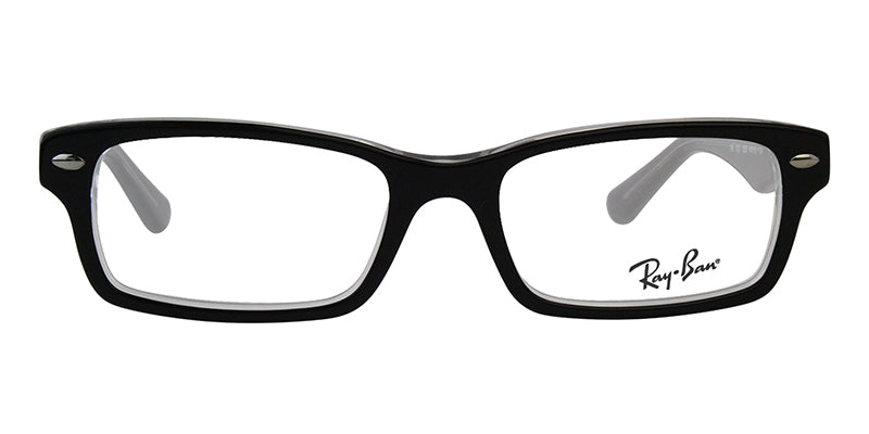 Ray Ban Jr - RY1530 Black Rectangular Kids Eyeglasses - 48mm