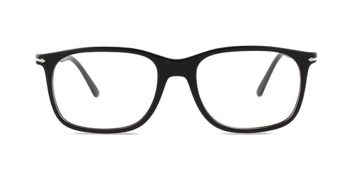 Persol 3213-V Black / Clear Lens Eyeglasses