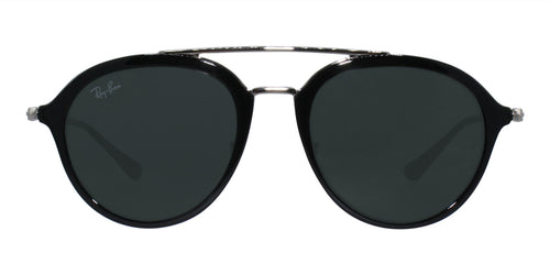 Ray Ban Jr - RJ9065S Black Oval Kids Sunglasses - 48mm