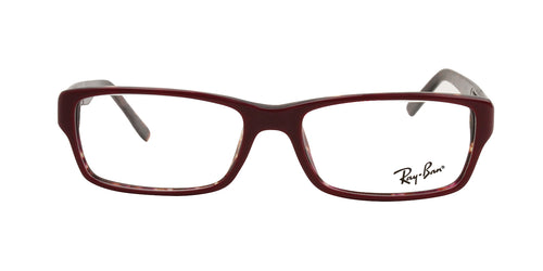 Ray Ban Rx - RX5169 Purple Rectangular Women Eyeglasses - 52mm