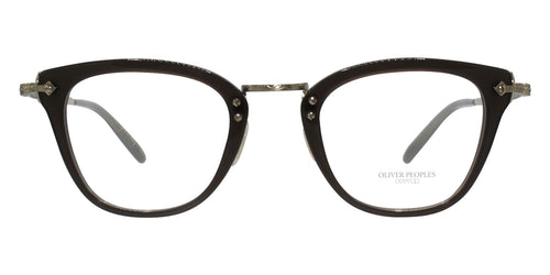 Oliver Peoples Keery Gold Brown / Clear Lens Eyeglasses