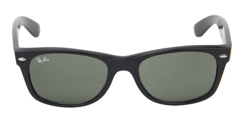 Ray Ban - New Wayfarer Black Wayfarer Unisex Sunglasses - 51mm