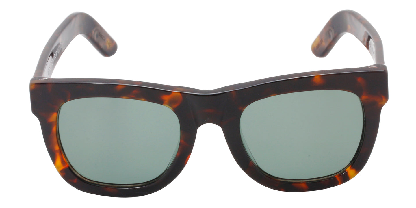 Retrosuperfuture - Ciccio Tortoise Rectangular Women Sunglasses - 50mm