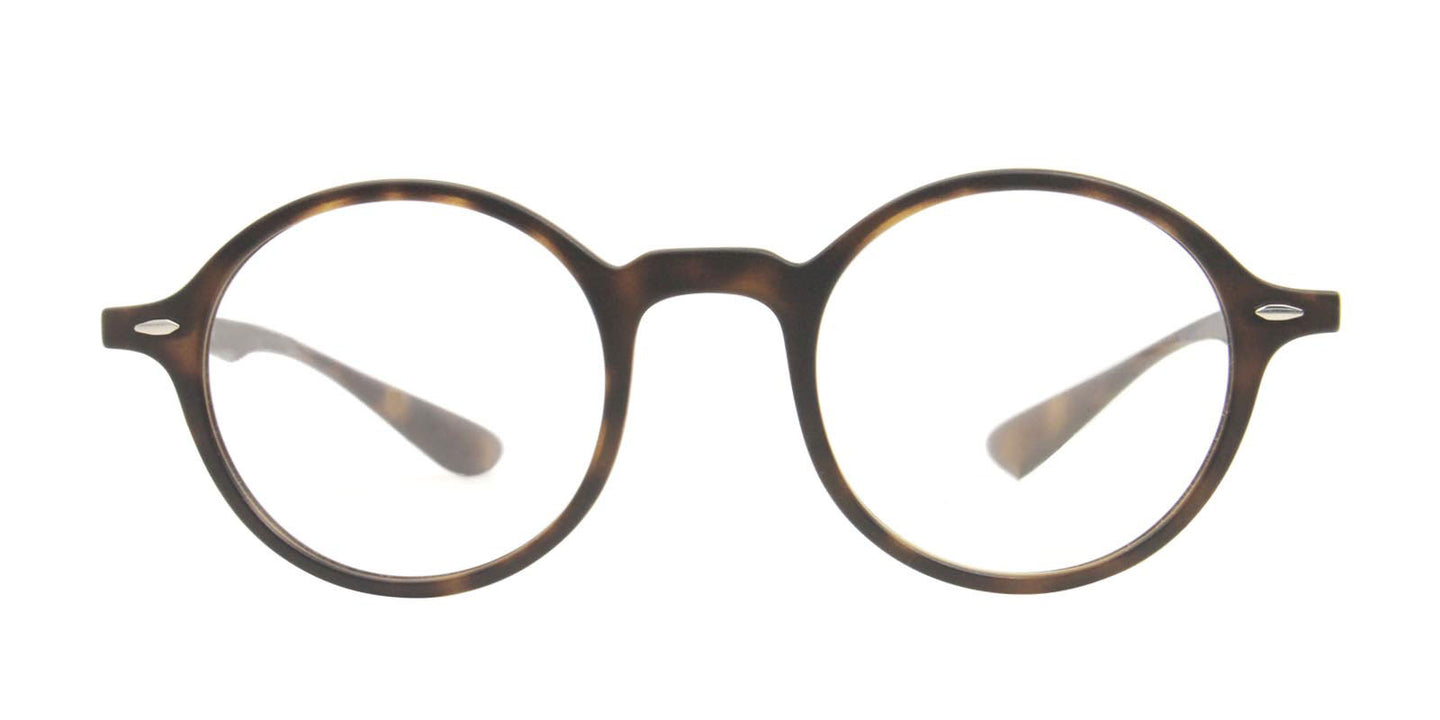 Ray Ban Rx - RX7069 Tortoise Oval Unisex Eyeglasses - 46mm