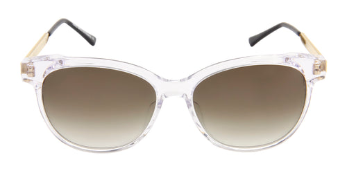 Thierry Lasry - Tipsy Clear Oval Women Sunglasses - 56mm