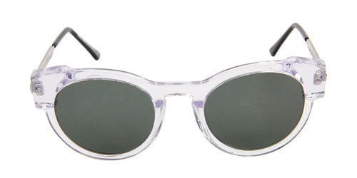 Thierry Lasry Variety Clear / Green Lens Sunglasses