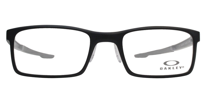 d256f1c1170 Oakley Milestone 2.0 Black   Clear Lens Eyeglasses – shadesdaddy