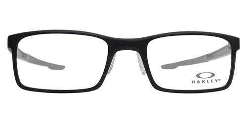 Oakley - OX8047 Black Rectangular Unisex Eyeglasses - 52mm