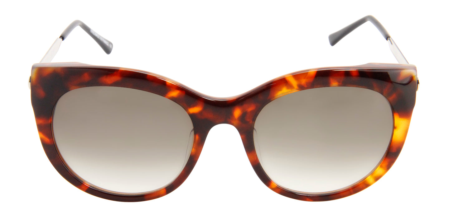 Thierry Lasry - Glitzy Tortoise Oval Women Sunglasses - 55mm