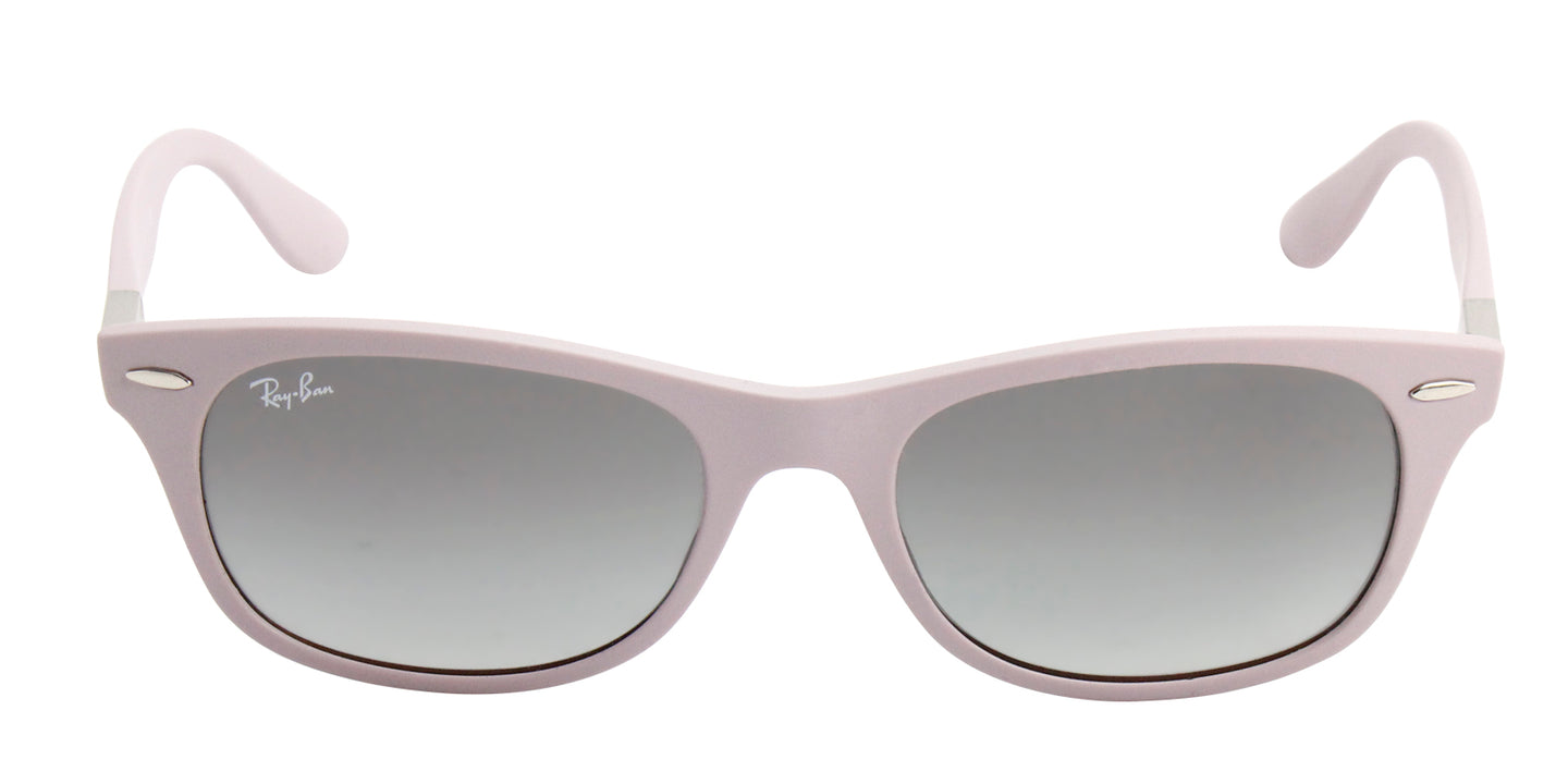 Ray Ban - RB4207 Purple/Gray Gradient Butterfly Women Sunglasses - 52mm