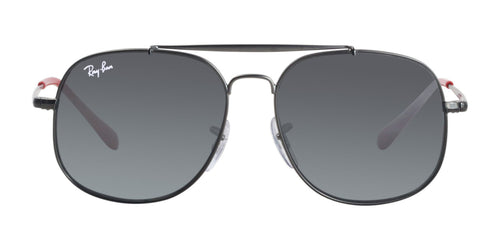 Ray Ban Jr - RJ9561S Gray Aviator Kids Sunglasses - 50mm