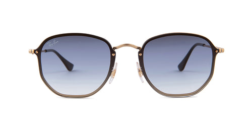 Ray-Ban RB3579N Gold / Blue Lens Sunglasses
