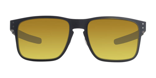 Oakley Holbrook Metal Black / Yellow Lens Mirror Sunglasses