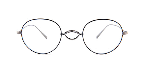 Oliver Peoples Whitt Black / Clear Lens Eyeglasses