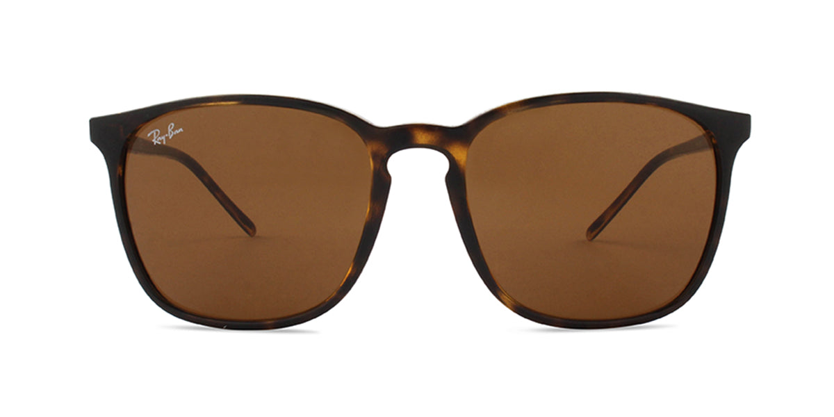 Ray Ban - RB4387 Havana/Brown Square Men Sunglasses - 56mm