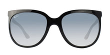 Ray Ban - CATS 1000 Black/Blue Gradient Oval Women Sunglasses - 57mm