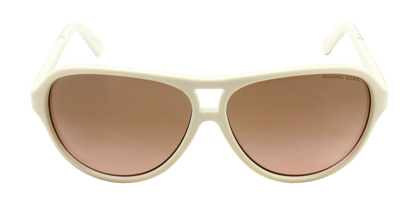 Michael Kors - Wainscott White Oval Women Sunglasses - 60mm
