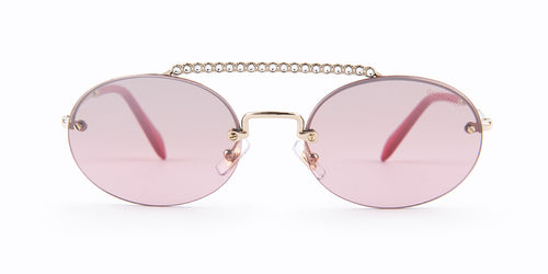 Miu Miu - SMU60T Silver  Women Sunglasses - 54mm