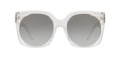 Michael Kors Destin Clear / Gray Lens Gradient Polarized Sunglasses