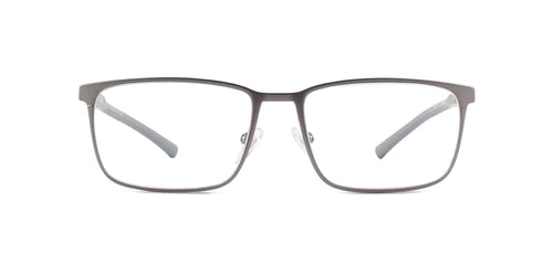 Starck - SH2033 Gunmetal Square Men Eyeglasses - mm