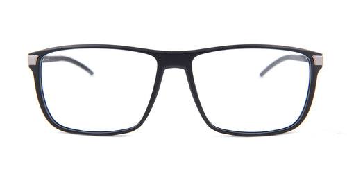 Porsche Design - P8327 Black Rectangular Men Eyeglasses - 56mm