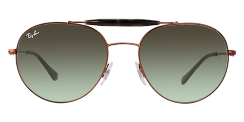 Ray Ban - RB3540 Bronze Oval Unisex Sunglasses - 56mm
