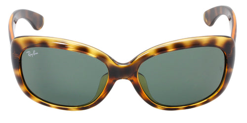 Ray Ban - RB4101 Tortoise/Green Butterfly Women Sunglasses - 58mm