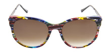 Thierry Lasry - Axxxexxxy Blue/Red/Green Oval Women Sunglasses - 56mm
